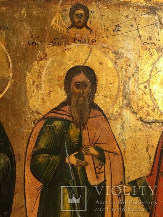 Икона Самон, Гурий и Авив, фото №7
