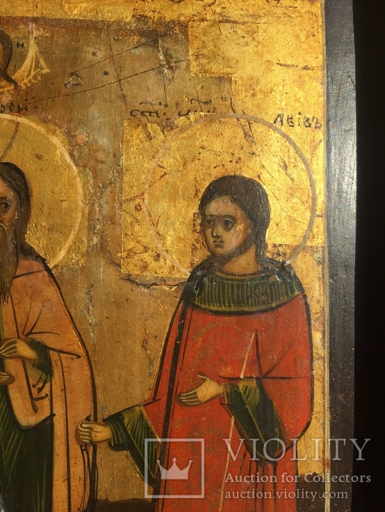 Икона Самон, Гурий и Авив, фото №8