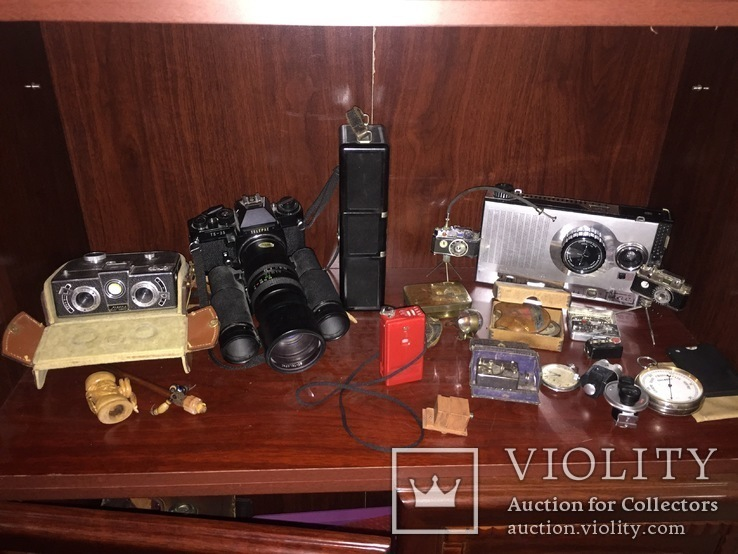 Коллекция старинных редких  фотоаппаратов 68шт, фото №6