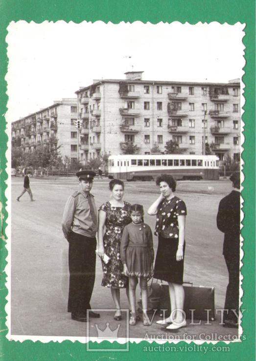 Семья форма Киев Дарница трамвай 1965, фото №2