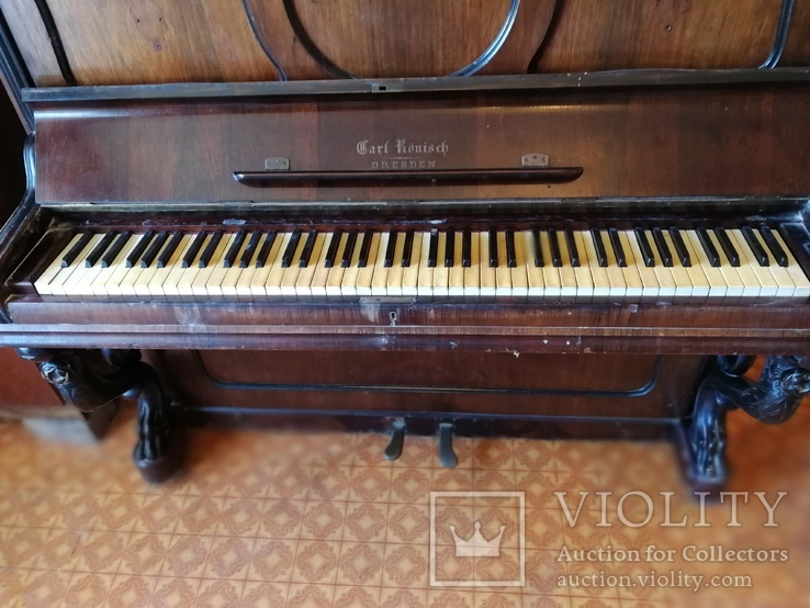 Пианино Carl Ronisch, фото №9