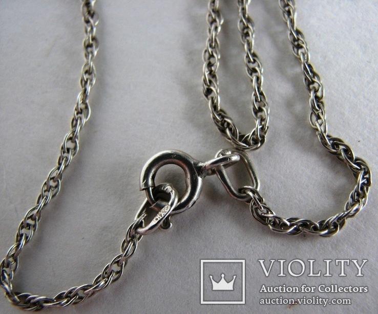 Серебряная цепочка, фото №2