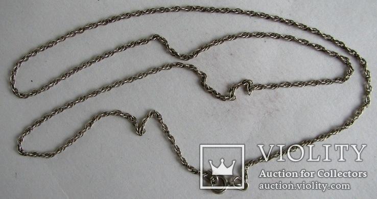 Серебряная цепочка, фото №5