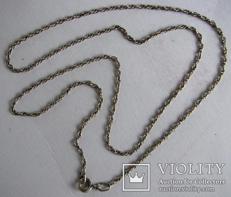 Серебряная цепочка, фото №6