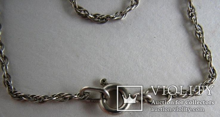 Серебряная цепочка, фото №7
