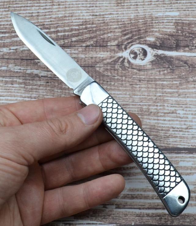 Складной нож Мастер К Рыбак-2 M9682, фото №5