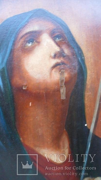 """Икона Богородица Скорбящая """"Умягчение злых сердец"""", фото №6"""