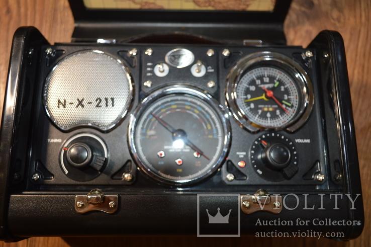 Spirit of St. Louis Air Station Radio Alarm Clock радио ретро дизайн, фото №7