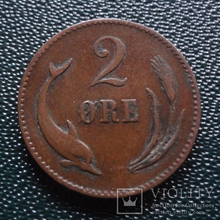 2 эре 1875    Дания    (,10.1.34)~, фото №2