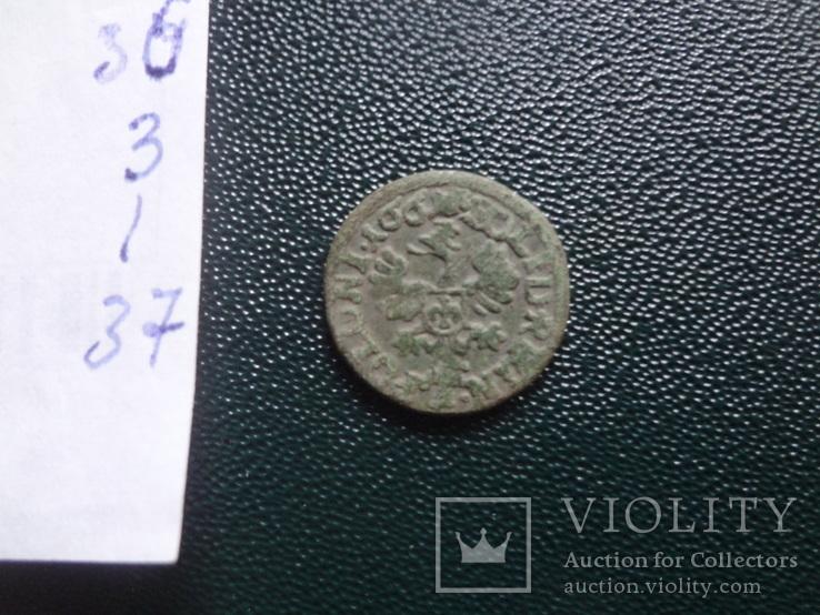 Солид боратинка 1661  Польша    (,10.1.37)~, фото №5