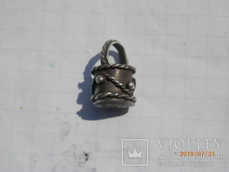 Ароматница серебро копия, фото №2