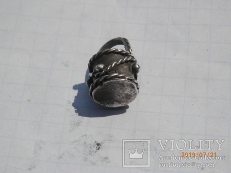 Ароматница серебро копия, фото №5