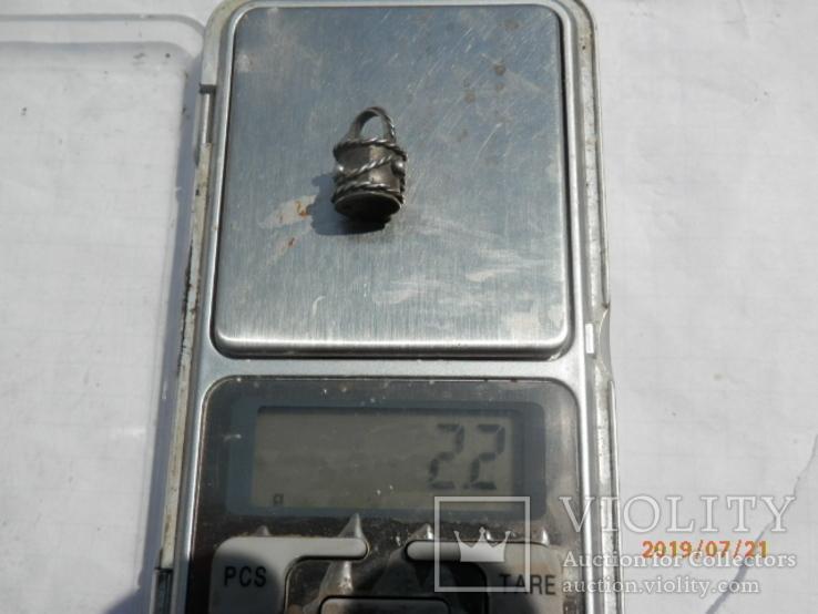 Ароматница серебро копия, фото №6
