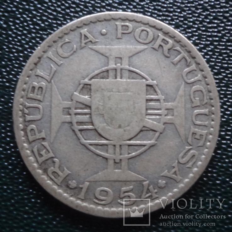10 эскудо 1975 Португалия Мозамбик серебро (,10.1.40)~, фото №2
