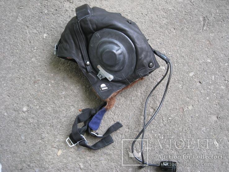 Шлемофон авиационный на меху, фото №2