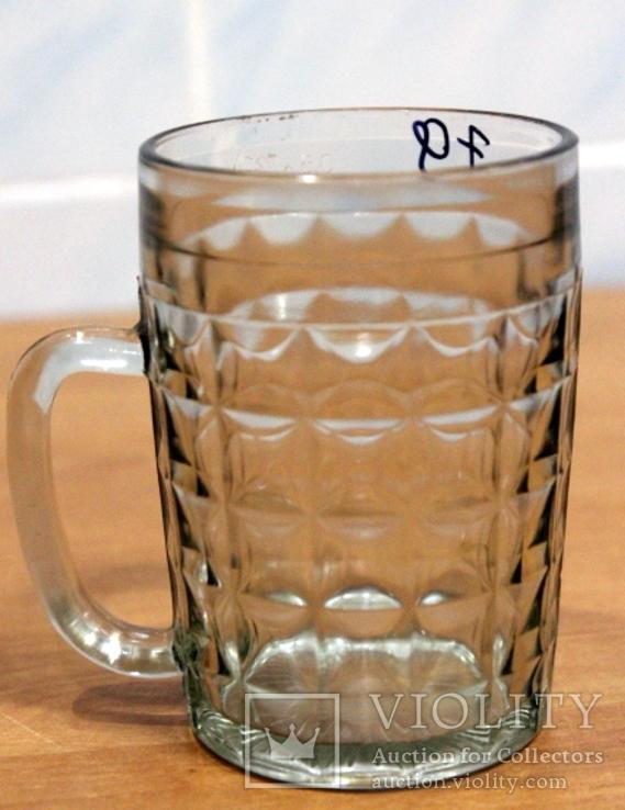 """Пивной бокал  №1 (пивная кружка) САЗ. 1979 год. 0,5 литра.""""Жамчики"""", фото №5"""