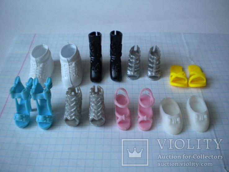 Взуття для кукли ляльки
