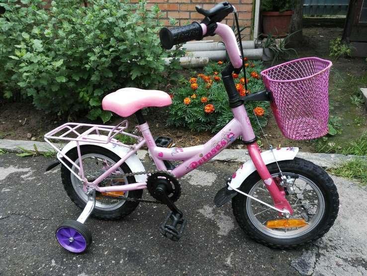 Детский велосипед 12 колесо Италия