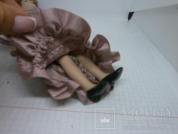Полностью фарфоровая кукла. 190мм, фото №7