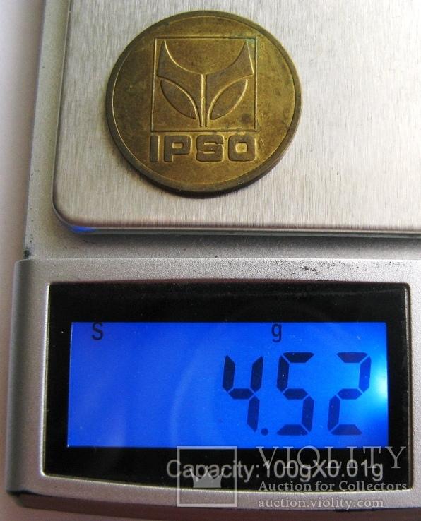 """Бельгия, токен для прачечных """"IPSO - 7 kg"""", фото №5"""