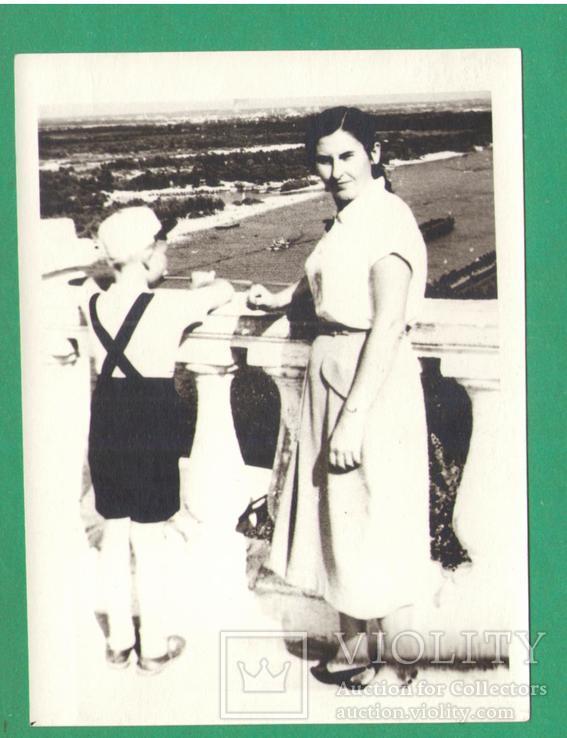 Киев женщина мальчик Днепр, фото №2