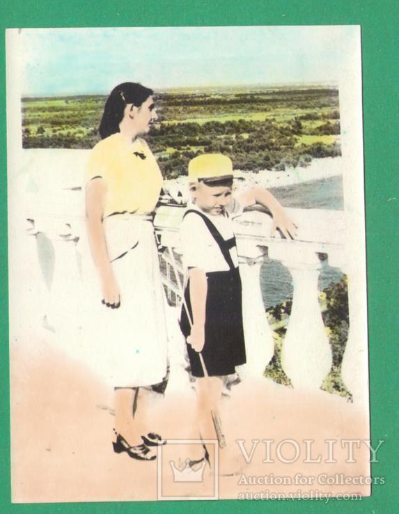 Киев Днепр женщина мальчик, фото №2