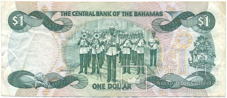 Багамские о-ва, Багамы 1 доллар серии 2002 г. Pick-70, фото №3