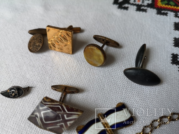 Запонки, ланцюжок, фото №3