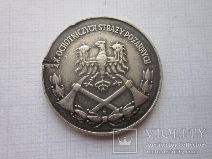 Медаль-За заслуги в пожарном деле., фото №4
