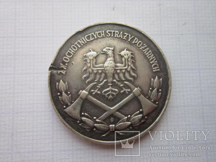 Медаль-За заслуги в пожарном деле., фото №5