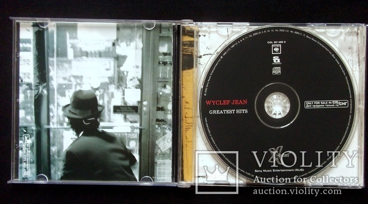 Wyclef Jean - Greatest hits 2003 audio CD, фото №5