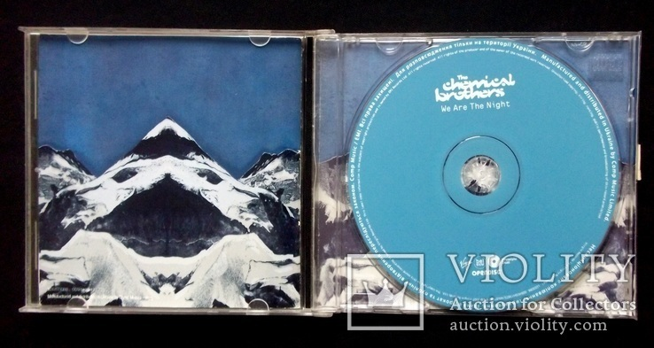 The Chemical Brothers - We are the night 2007 audio CD, фото №4