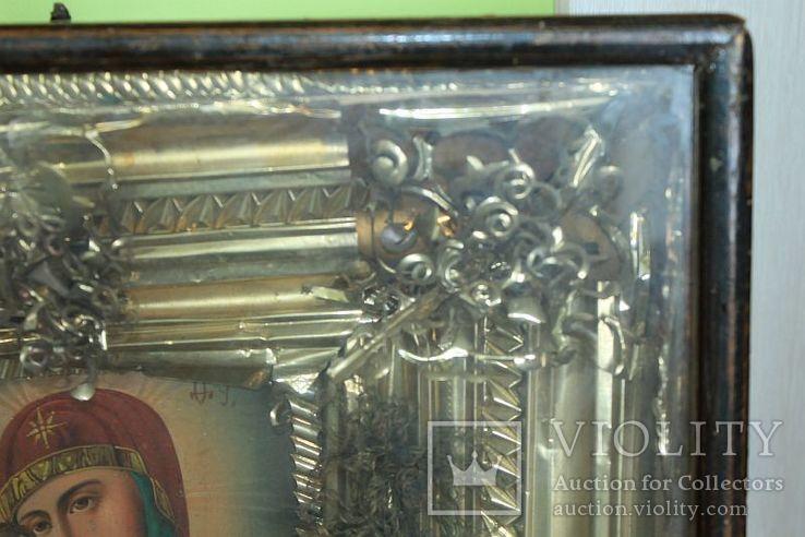 Большая икона под стеклом ( 53 на 47 см), фото №10