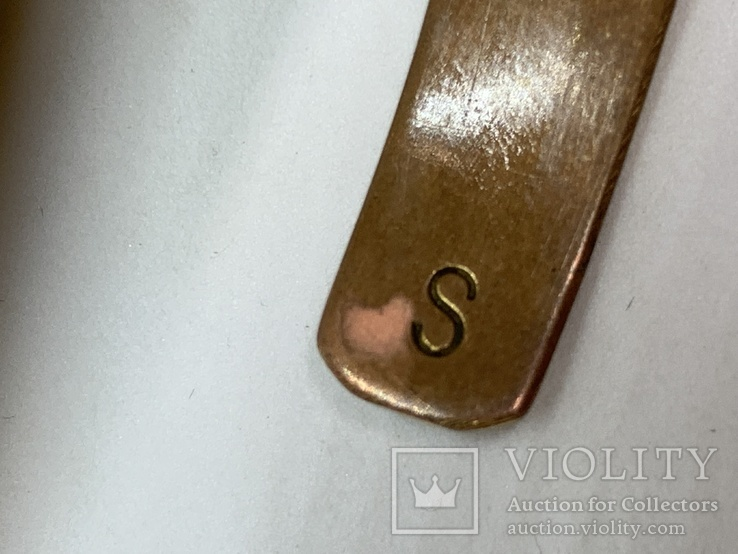 Винтажный позолоченый браслет из Англии, фото №6