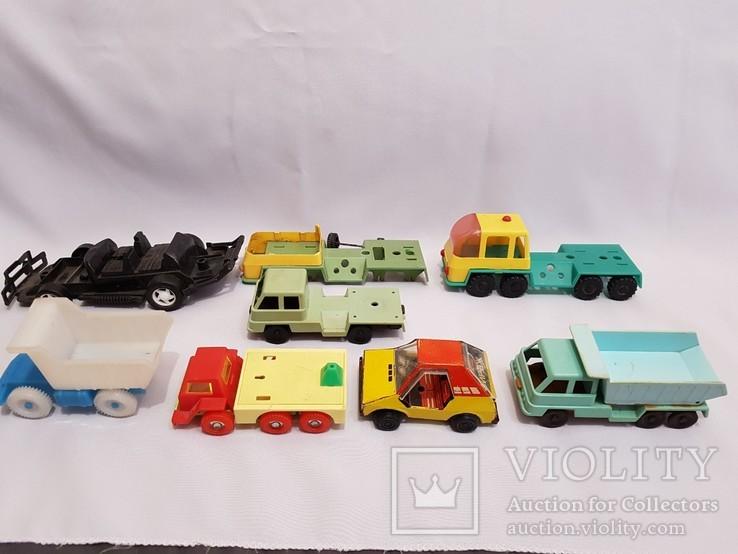 Машинки СССР + , разные одним лотом