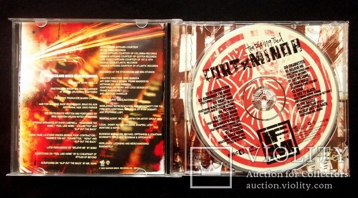 Fort Minor - The rising tied. audio CD, фото №4