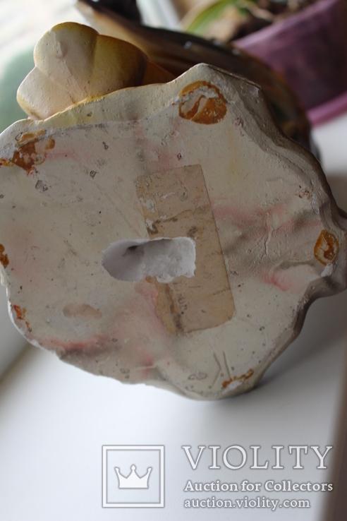 Папуга-копілка часів СССР, трошки пошкоджена, фото №6