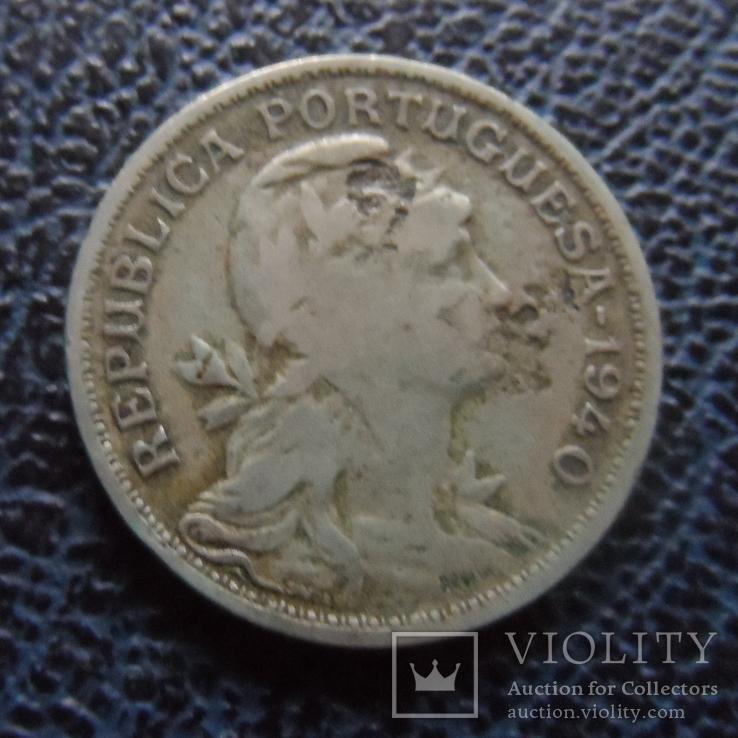 50 сентавос  1940   Португалия   (,11.2.29)~, фото №2