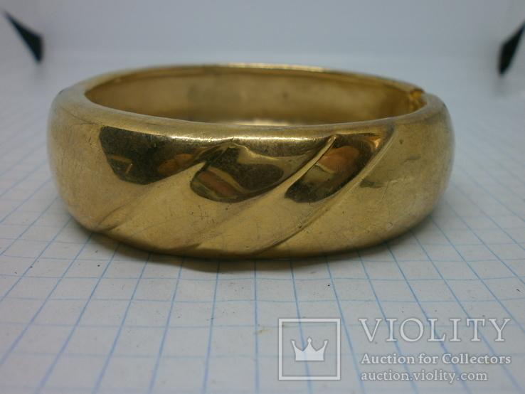 Объемный разжимной браслет. тяжелый, фото №4
