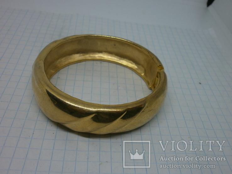 Объемный разжимной браслет. тяжелый, фото №5