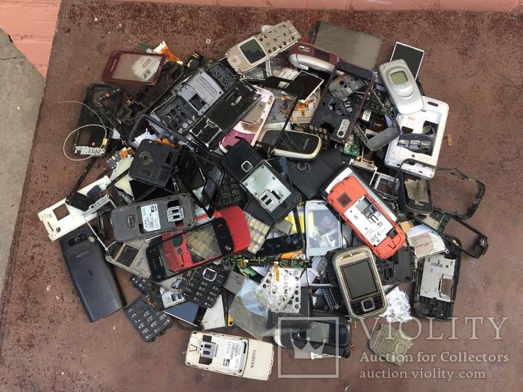 Запчасти на старые моб.телефоны, 1.6кг