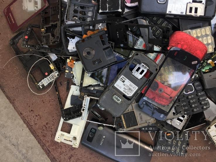 Запчасти на старые моб.телефоны, 1.6кг, фото №5