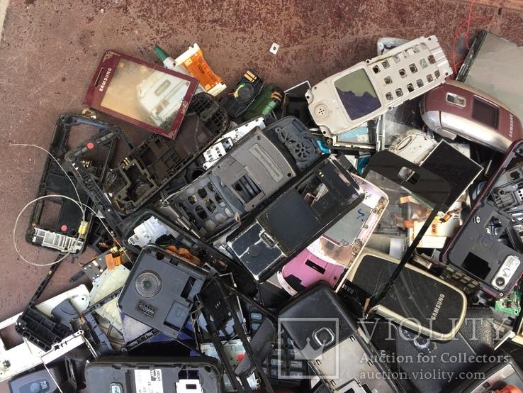 Запчасти на старые моб.телефоны, 1.6кг, фото №6