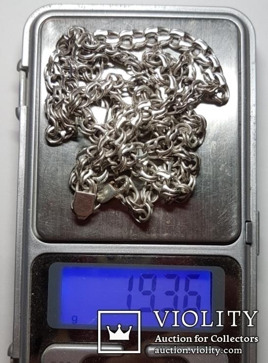 Цепь, серебро, фото №11