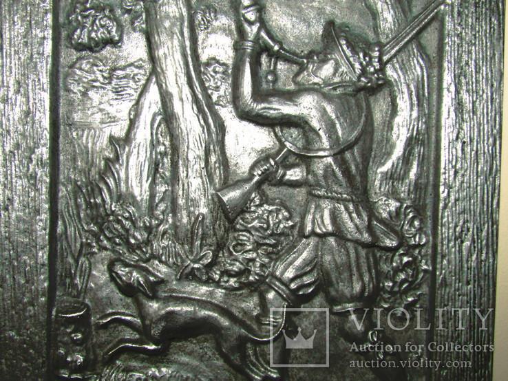 Картина барельеф панно Охота Германия, фото №6