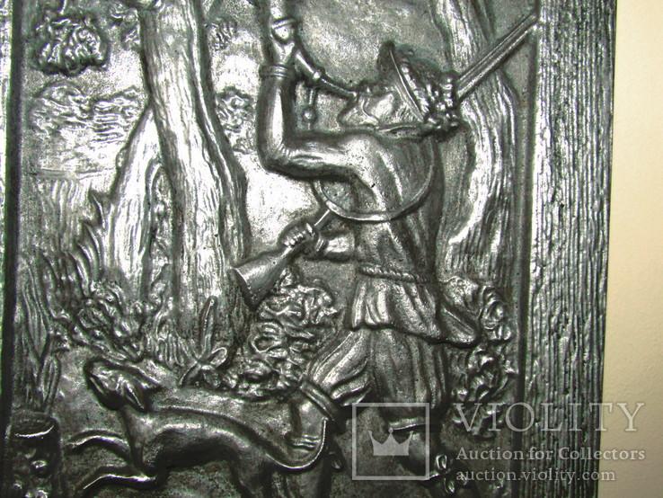 Картина барельеф панно Охота Германия, фото №7