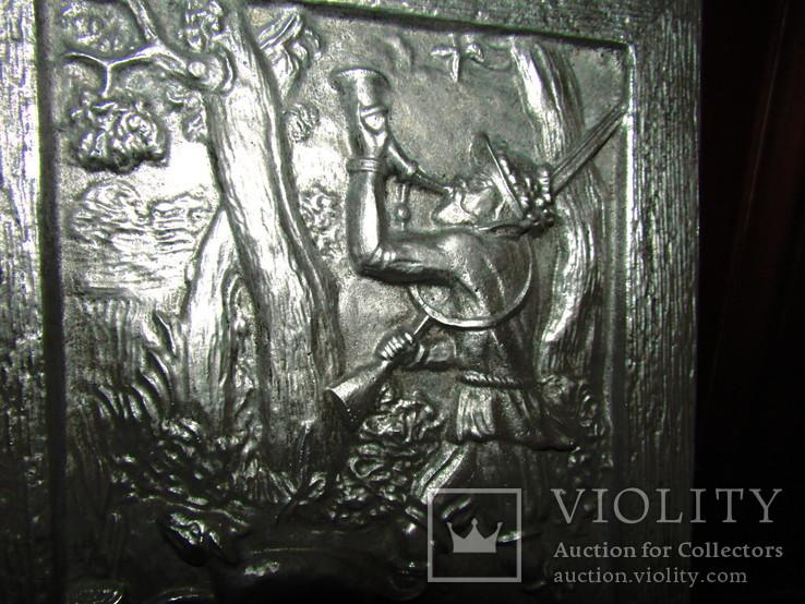 Картина барельеф панно Охота Германия, фото №8