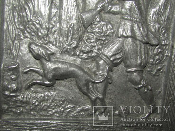 Картина барельеф панно Охота Германия, фото №9