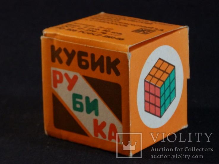 Кубик Рубика СССР новый не игранный, фото №7