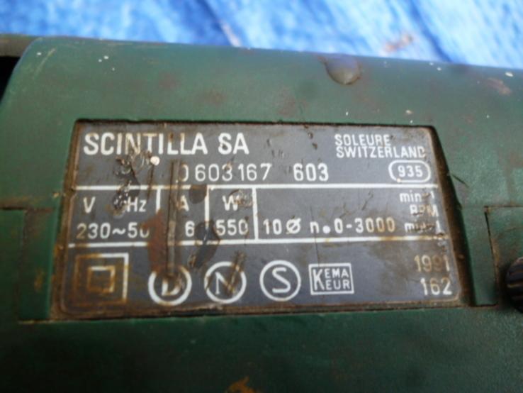 Дриль BOSCH CSB 550 RE з Німеччини, фото №6